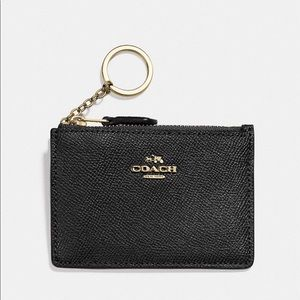 Coach Mini Wallet Keychain Card Holder